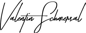 Unterschrift von Valentin Schmersal